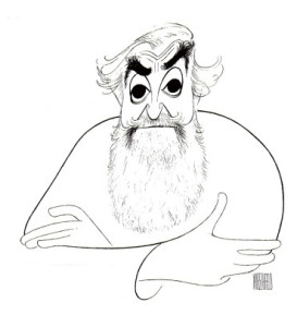 Hirschfeld-self-portait